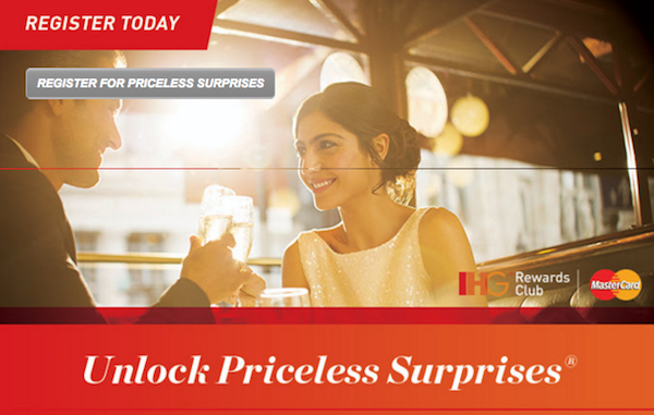 IHG-Priceless-Surprises-Registration